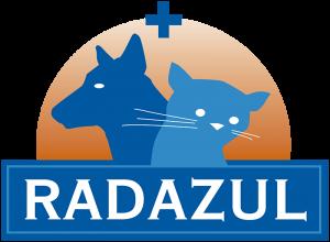 logo consultorio veterinario radazul